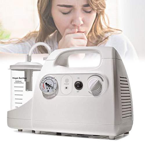 HAIT Máquina Portátil de Secreción de Moco, Dispositivo de Succión de Primeros Auxilios Respiratorios, Sin Presión Positiva, Seguridad, Funcionamiento A Largo Plazo para Ancianos y Niños