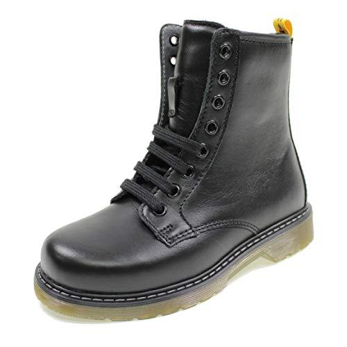 Balocchi Marty 991800 36/38 zwarte enkellaars klein meisje rits laarzen amfibieuze veters
