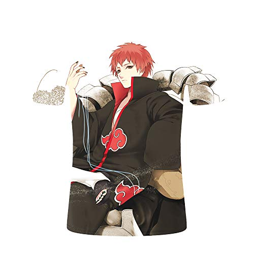 Preisvergleich Produktbild MLX-BUMU Unisex 3D Printed Tops T-Shirts Casual Kurzarm T-Shirts Für Männer Frauen Anime Naruto Shirt Sommer Personalisierte Casual Short, XL