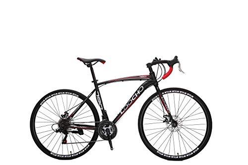 LOOCHO Road Bike 21 Speed Dual Disk Brake