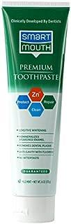 SmartMouth Premium Zinc Ion Toothpaste, Mild Mint 6 oz