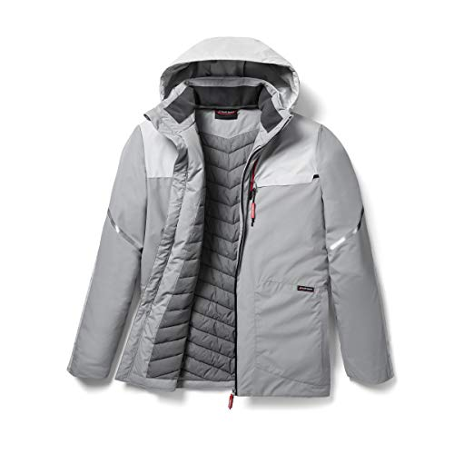 Audi collection 313180170 Audi Sport Outdoorjacke, Herren, hellgrau, XXL
