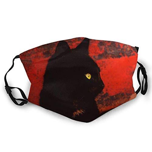 Poppluck - Máscara de esquí para hombre y mujer, diseño de gato negro
