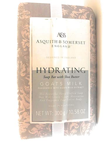 Asquith & Somerset Hydrating Goats Milk Soap Bar With Shea Butter 10.58 Oz