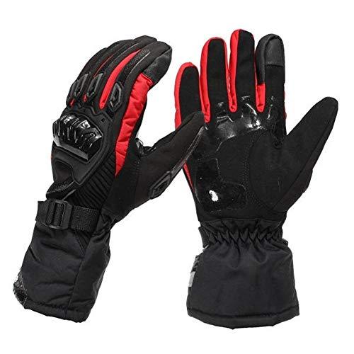 Geschicklichkeit For Motorrad Radfahren Skifahren Skateboard Screen-Handschuhe Winter warm Winddicht, MULTIFUNKTIONSHAND (Size : L)
