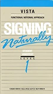 Signing Naturally Student Workbook: Level 1, Expanded Edition
