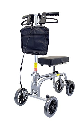 Essential Medical Supply Free Spirit Knee and Leg Walker with Patented Design, Unique Turning Mechanism, Extra Height...
