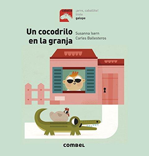 Un cocodrilo en la granja - Galope: 4 (Caballo)