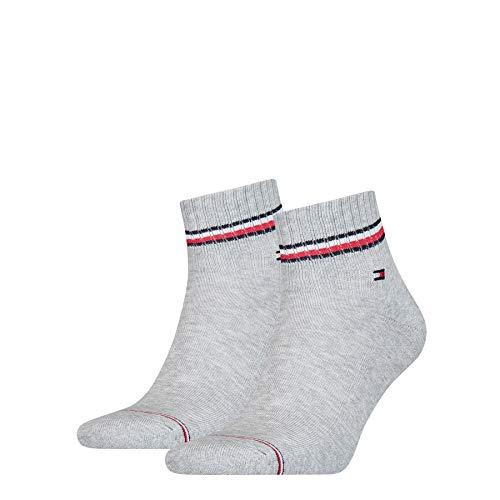 Tommy Hilfiger Herren Iconic Quarter Socken, Tommy Original, 43/46 (2er Pack)