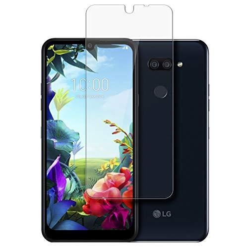 disGuard Schutzfolie für LG K40s [2 Stück] Entspiegelnde Bildschirmschutzfolie, MATT, Glasfolie, Panzerglas-Folie, Bildschirmschutz, Hoher Festigkeitgrad, Glasschutz, Anti-Reflex