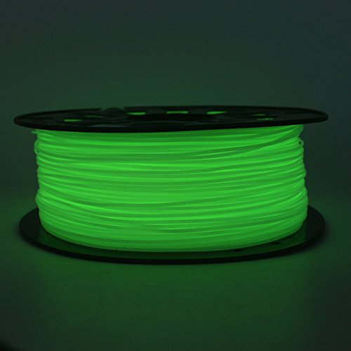 PLA Impresora 3D Filamento For Creality CR-10S,1 kg Bobina Glow in dark Green