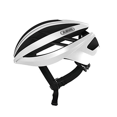 FZKJJXJL Casco De Bicicleta Casco De Bicicleta De Montaña Hombres Y Mujeres Casco De Bicicleta De Carretera Moldeo Integrado Equipamiento para Montar,M-White