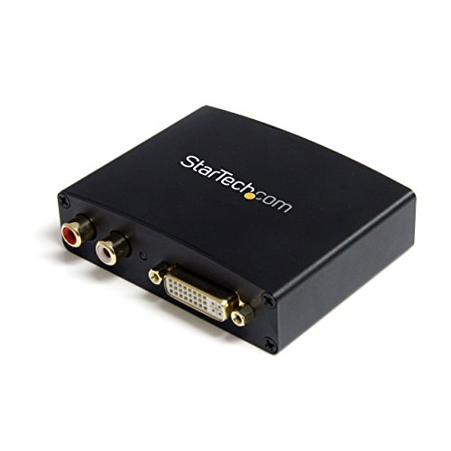StarTech.com DVI to HDMI Video Converter with Audio - Video converter - DVI - HDMI - black - DVI2HDMIA