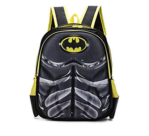 BJ-SHOP Student Schultasche,Kinderrucksacke Superhelden Kinder Rucksack Einstellbare Kindergarten Buch Taschen Grundschule Junge Madchen Buch im Rucksack
