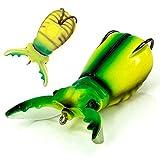 Molix - Supernato Beetle 75, Color White Beetle, Talla 17 gr