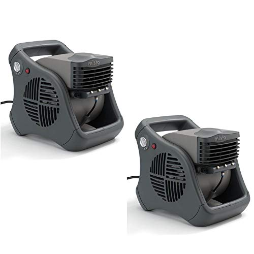 Lasko Misto al aire última intervensión Patio Mister Agua de refrigeración–Ventilador y vaporizador portátil (2unidades)