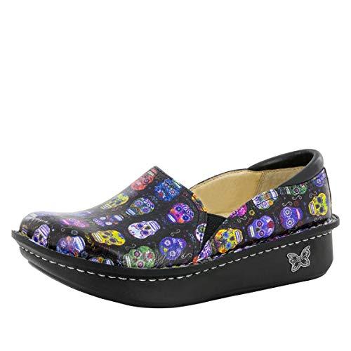Alegria Debra Womens Professional Shoe Sugar Skulls 8 M US