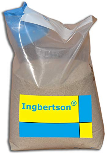 Ingbertson Quarzsand Sand für Sandfilteranlage Poolfilter Pool 0,4-0,8mm Körnung Made in Germany (18kg, 0,4-0,8mm)