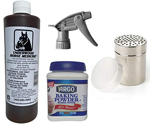 CM Products Underwood Horse Medicine All-in-One Topical Horse Wound Spray Kit