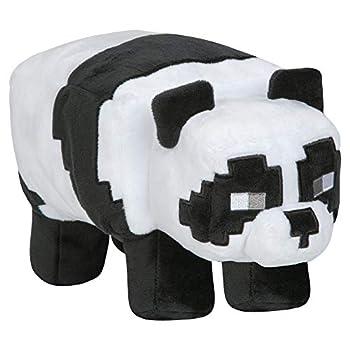 JINX Minecraft Adventure Panda Plush Stuffed Toy Black/White 9.5  Long