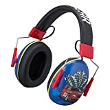 Kids Ear Protectors and Headphones 2 in 1 Noice Reduction and Headphones for Kids Ultra Lightweight (Nascar)
