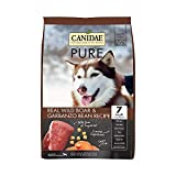 Canidae PURE Grain Free, Limited Ingredient Dry Dog Food, Wild Boar and Garbanzo Bean, 12lbs