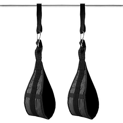 Faletony Premium Bauchmuskelschlaufen Armschlaufen Bauchtraining Ab Straps Slings Klimmzugstange Bauchtrainer Fitness für Bauchmuskeltraining, Bauchpresse, Beinheben, Fitness Gewichtheben Training