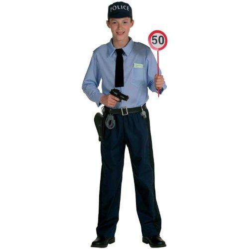 PANACHE BLANC - A1203767 - Déguisements - Panoplie de Policier