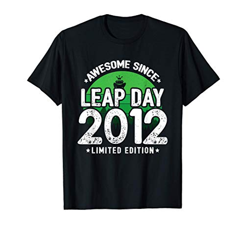 Leap Day Birthday - Leap Year Baby - Awesome Since 2012 T-Shirt