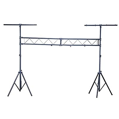 SoundLAB 3m Goalpost DJ Disco Gantry Lighting Stand - Steel