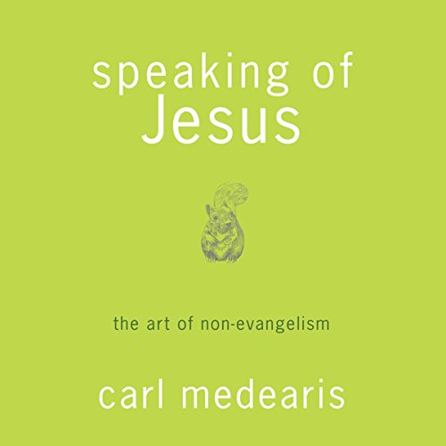 Speaking of Jesus audiobook cover art