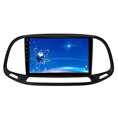 XISEDO Android Autoradio per Fiat DOBLO 2015-2019 In-dash Car Radio 9 Pollici Car Stereo Navigatore GPS con Schermo di Tocco Nessun lettore DVD (DOBLO)