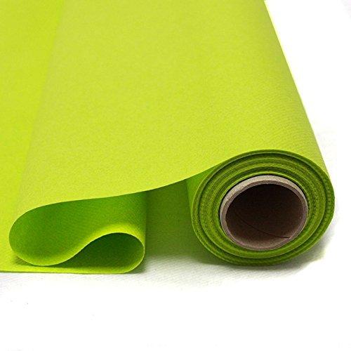 Fêter et recevoir Nappe Papier INTISSÉ Rouleau 25X1.2M THÉ Vert