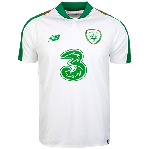 New Balance Herren Irland Away 2018 T-Shirt, weiß, L