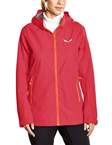 Salewa 00-0000024546_1832 Jacket Femme, Rose Red/6080, FR : M (Taille Fabricant : 44/38)