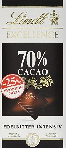 Excellence 70{6f07a8ee35e9643bdc0f6988df9372f1b0fe73ee59abb2a714263a133f2d000d}, Promotion, Edelbitterschokolade (100 g)