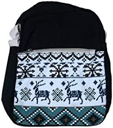 Canvas Purses Set Stripe Tween Crossbody Purse and Shoulder Messenger Bags for Teen Girls IBA7 product image