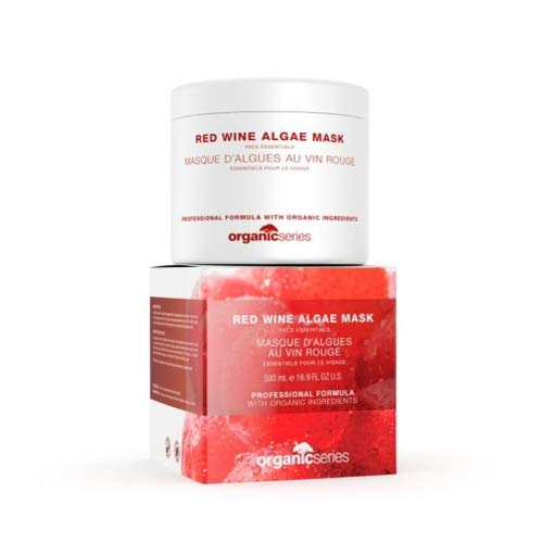 Organische serie Rode Wijn Algen Masker, 500 ml