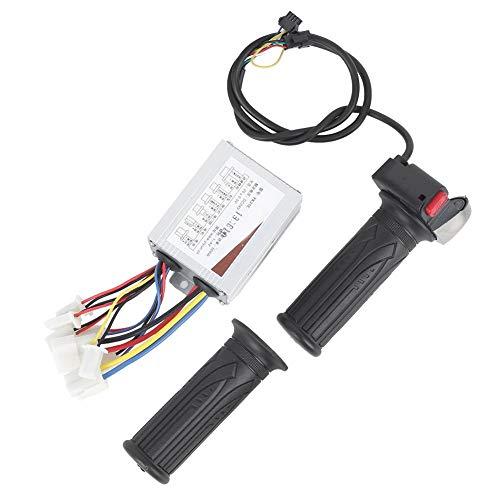MAGT Empuñadura de Acelerador de Bicicleta eléctrica, batería de Litio Almacenamiento de...