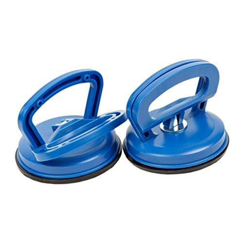 2x Saugheber Glassauger Saugnapfhalter 40 kg Gummisauger | I6