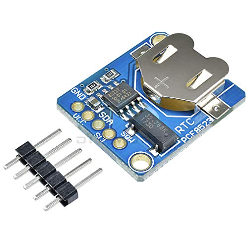 HiLetgo PCF8523 Real Time Clock RTC Breakout Module PCF8523 Real Time Clock Assembled Breakout Board 3.3 V 5 V Time Clock for Arduino