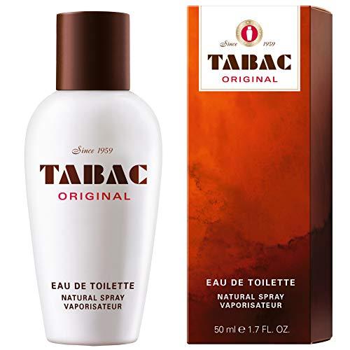 Tabac® Original I Eau de Toilette - Original Seit 1959 - männlich, markant und unverwechselbar - zeitloser Männerduft I 50ml Natural Spray Vaporisateur