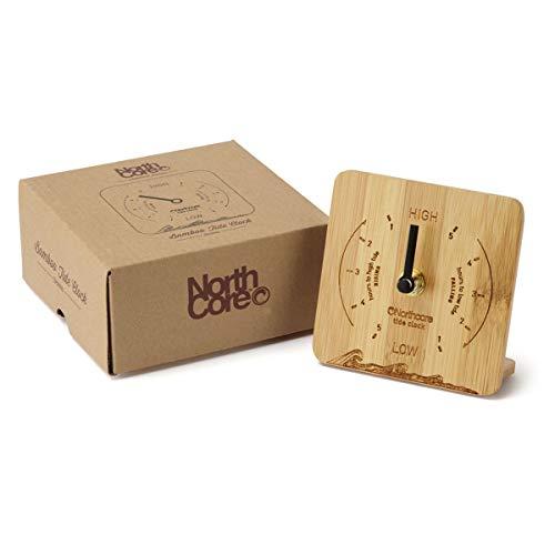 Ubicados en bambú natural con una cara grabada con láser, nuestros relojes Northcore Tide están diseñados para proporcionar una guía de los tiempos de marea en su ubicación seleccionada. Configuración fácil. Simplemente consulte su tabla de mareas lo...