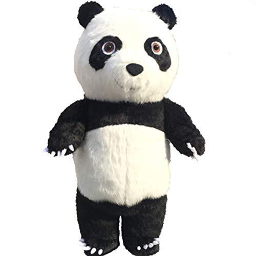 DNAN Aufblasbare Kleidung for Erwachsene Panda aufblasbarer Anzug Benutzt for Halloween Cosplay Geburtstagsparty Kleidungsfestival Anzeige verkleiden (Größe : 2m)