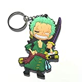 CellDesigns Japanese and US Anime Character Souvenir Collection (One Piece Roronoa Zoro-Keychain)