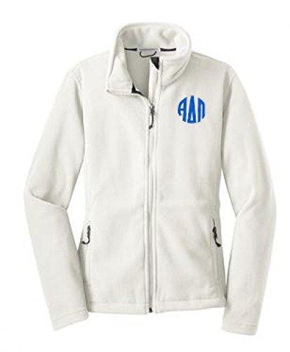 Alpha Delta Pi Fleece Jacket X Large White