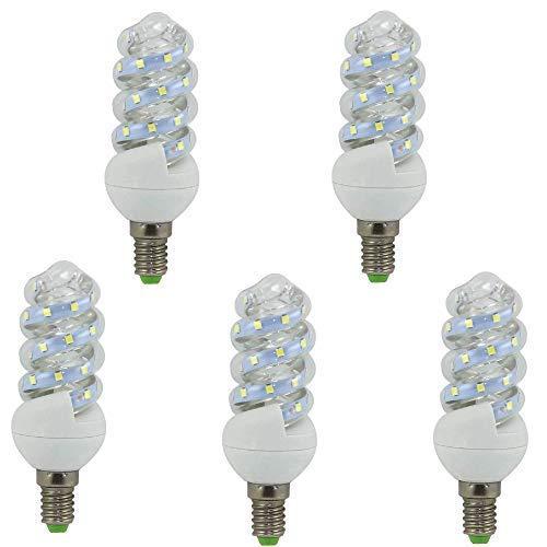 Mini-LED-Glühbirne, E14, 9 W, (5 Stück) (4200 K)
