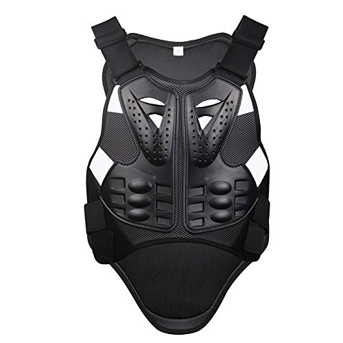Armure Moto Gilet de Protection Armure Motocross Racing Gilet de Protection pour Le Patinage de...
