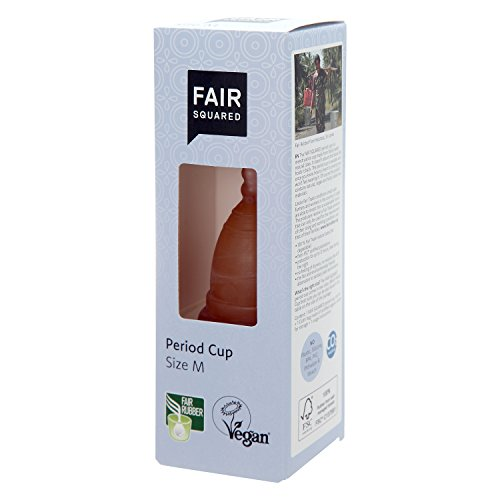FAIR SQUARED Period Cup Size M, FSC zertifiert, vegan, 1 Stück