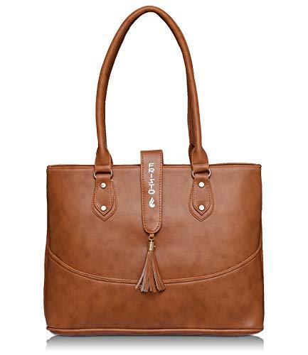 Fristo Tan Women Handbag